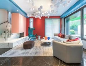Design 333李懿恩设计--色彩碰撞的特色样板间