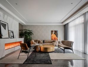 佳世建筑设计--上海大华·兰湖天境别墅415㎡
