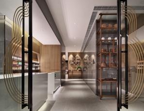福文化主题餐厅空间设计之福厨