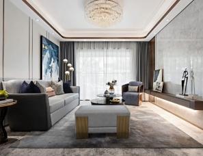 纳沃设计--汉寿金科115m²时尚轻奢+140m²雅致东方样板房