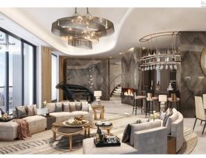 HWCD设计--上海绿地五里桥两套豪宅