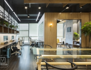 麻吉空间设计 | 麻吉工装——传媒公司