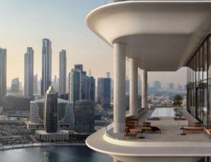 Foster + Partners--迪拜大平层,32层只有39套公寓