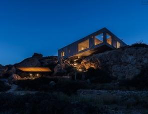 OOAK--希腊卡尔帕索斯混凝土海景别墅