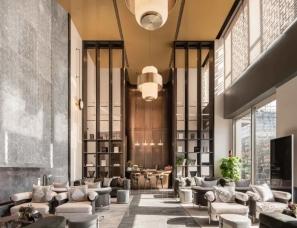 李益中空间设计+HWCD设计--福州大东海世茂天玺花园营销中心