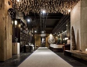 宁波矩阵酒店设计--汐源茶楼