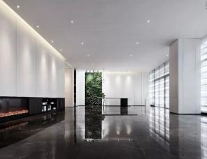 山隐设计--干净无尘、简约优雅风格的文化中心