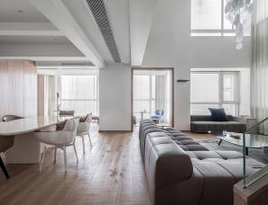 姚量设计--自由生活器皿 中瑞曼哈顿二期住宅500㎡