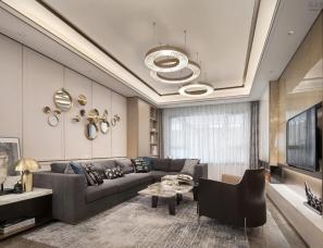 同心同盟装饰设计--北京京投公园悦府样板房E户型