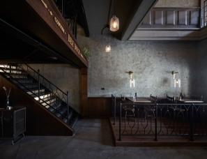 HAO Design--用蒸汽朋克美学改造台湾餐厅