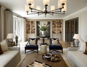 Laura Hammett设计--surrey-country-house