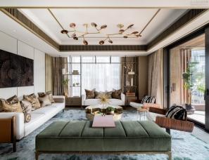 Joyce Wang设计--香港豪宅,传达环境之间的共同精神