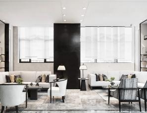 柏舍设计--美的顺城府住户共享空间