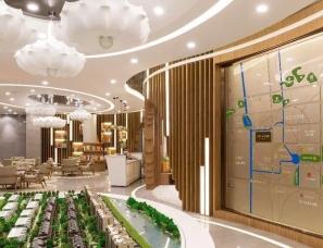 上海牧笛设计--万科云间传奇销售中心