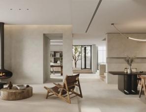 涵瑜设计--自然与住宅共生 与风景不期而遇
