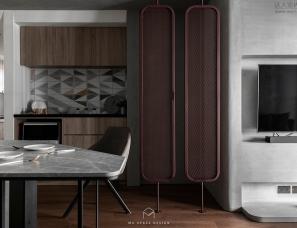 台中慕森设计--莳 86m²极简住宅