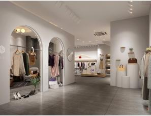 北欧风格零距离服饰店