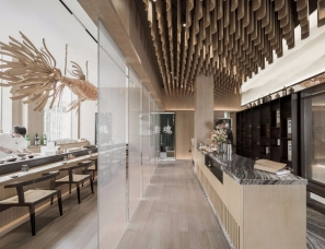 赛拉维设计--万科·翡翠嘉和生活馆&魂寿司怀石料理