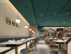 海南椰子鸡餐厅设计【椰客】一颗在大海里飘来飘去的椰子