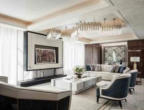 HWCD设计--上海建工房产南京海玥花园豪宅