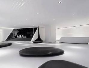 广州共生形态设计--福建三盛滨江国际销售中心