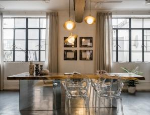 办公空间|克制的设计,唤起新与旧的时光对话