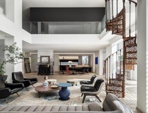 叠加OFFICE设计--设计师的家 北京900平艺术别墅!