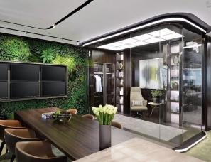 集艾设计--上海置汇旭辉广场金融办公样板房