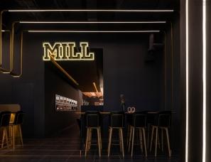 观堂室内设计--MILL乐堤港店