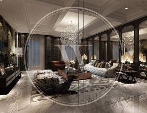 香港无间设计吴滨作品--成都海昌天澜一期22号别墅