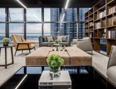 PINKI 设计--广州南沙金茂湾滨海T7商务空间