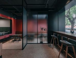 B336 Design Group--红墙咖啡