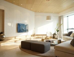李玮珉设计--岛环海凯莱酒店公寓A样板房