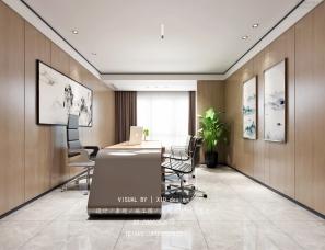 前台,接待室,会议室,办公室效果图表现