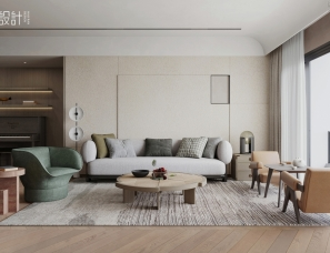 昊然设计--深圳东海国际公寓G户型157㎡