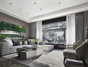 SCD郑树芬设计--义乌桃花源南区中式合院样板房650㎡