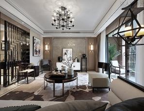 北京艾迪尔设计--重庆上东汇样板房