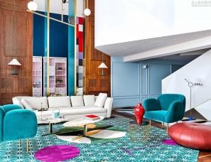 Dariel Studio设计--浦东世贸滨江花园顶层公寓