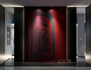 在地室内设计--本杰明摩尔店铺180㎡色