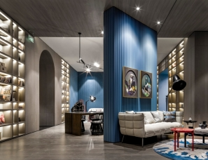 深圳派尚设计--天津阳光100喜马拉雅· 销售中心