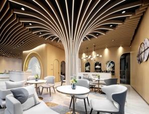 柏舍设计--中海繁华里浦下销售中心