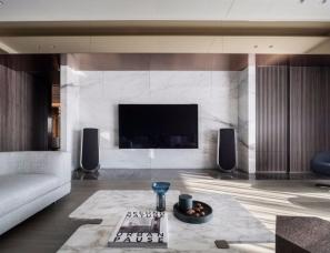 大雄设计--用建材营造室内艺术感,尽显豪宅气度280㎡