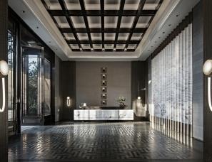 盘石室内设计--南宁建发央玺营销中心