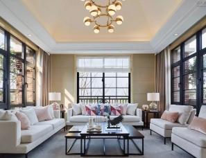 上海大隐室内设计--苏州唯美梦幻叠加别墅