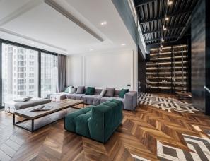 YØDEZEEN Architects--乌克兰基辅 430m² 家庭公寓
