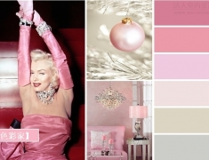 【色彩家】粉色加银色—梦幻银粉下的优雅精灵