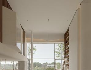 胡睿设计X金该视觉表现  | 无风格主义#别墅设计#挑空客厅