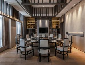 上海亚邑设计--三银集团上海总部办公室