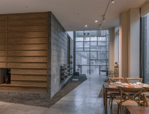 "TEMP建筑设计--杭州·""阿家""茶室"