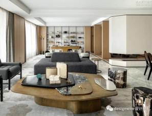 无间设计吴滨--西湖豪宅 杭州嘉里中心逸庐样板房